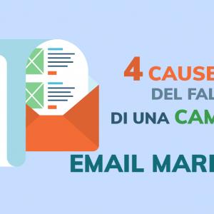 4 cause del fallimento di una campagna di email marketing