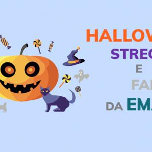 Halloween: streghe e fantasmi da email