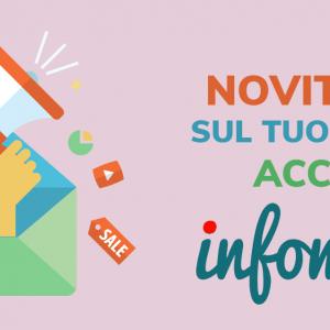 Novità sul tuo account Infomail