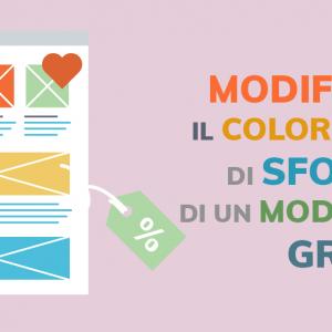 Modificare il colore di sfondo di un modello grafico