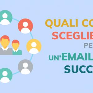 Quali colori scegliere per un'email di successo?