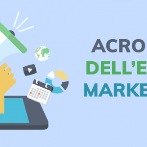 Acronimi dell'email marketing