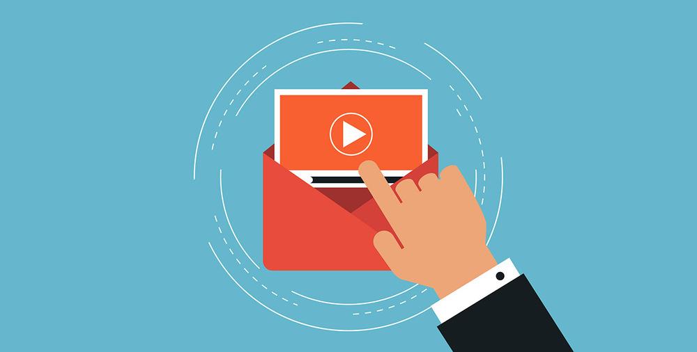 Come inserire un video in un'email