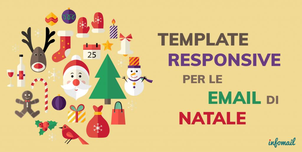 Immagini Natale Email.6 Template Responsive Per L Email Marketing Natalizio Infomail