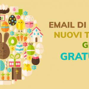 Email di Pasqua? Nuovi template grafici gratuiti