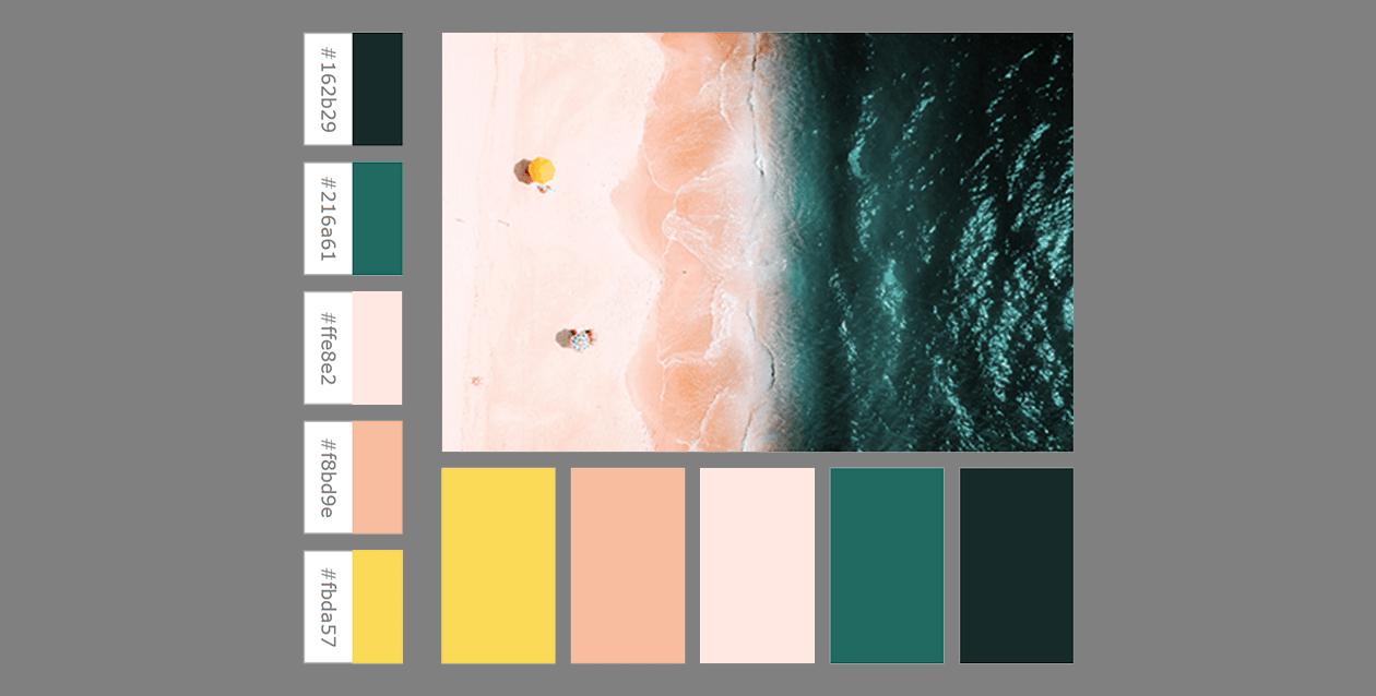 Come ottenere una palette di colori da un'immagine