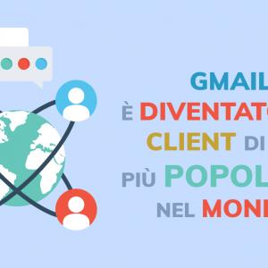 Aprile 2019: Gmail è diventato il client di posta più popolare nel mondo.