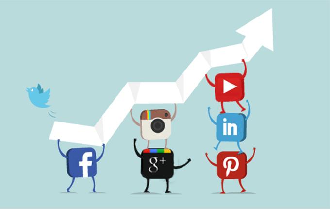 social-media-per l'email marketing