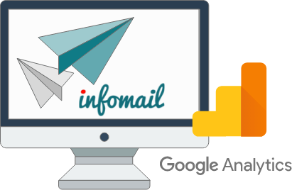 Infomail integra Google Analytics