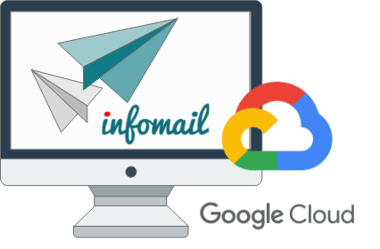 Infomail sfrutta la Google Cloud Platform